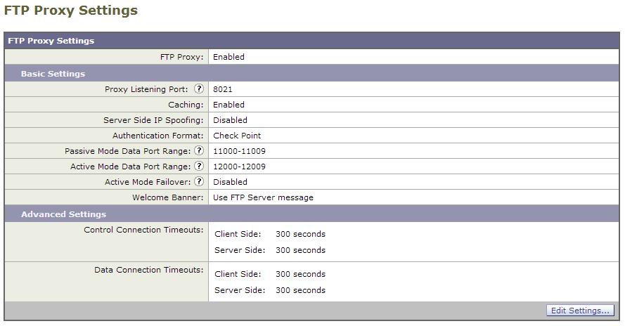FileZilla Client Through an Ironport Proxy Appliance | The